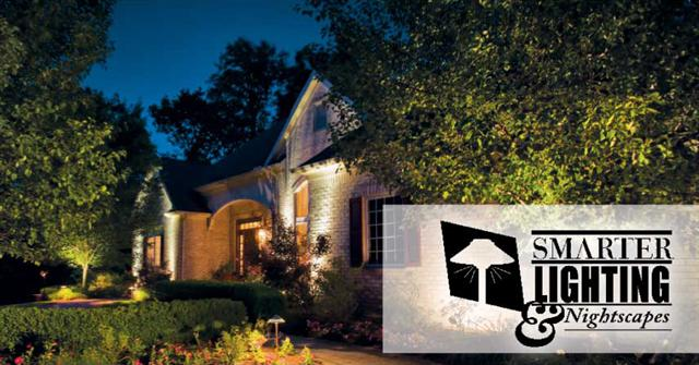 Landscape Lighting to go with your new sprinkler system or sprinkler repair